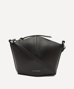 Mini Leather Cross-Body Bucket Bag