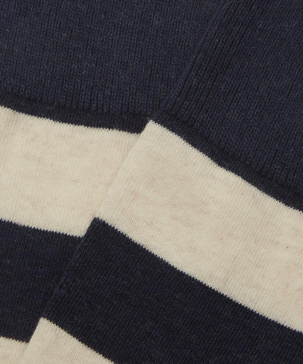 Miller Block Stripe Cotton Socks
