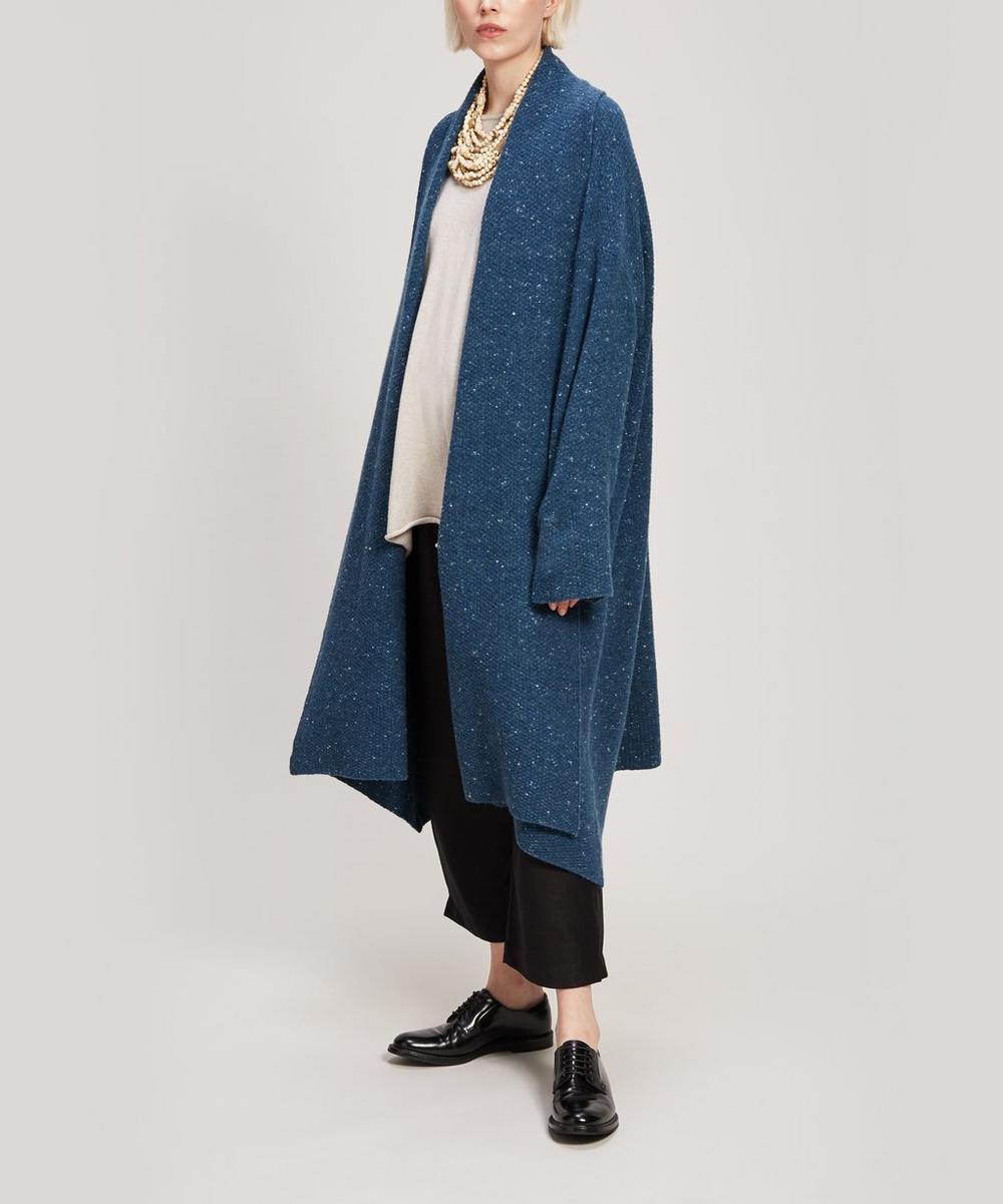 Bateau-Neck A-Line Cashmere Sweater