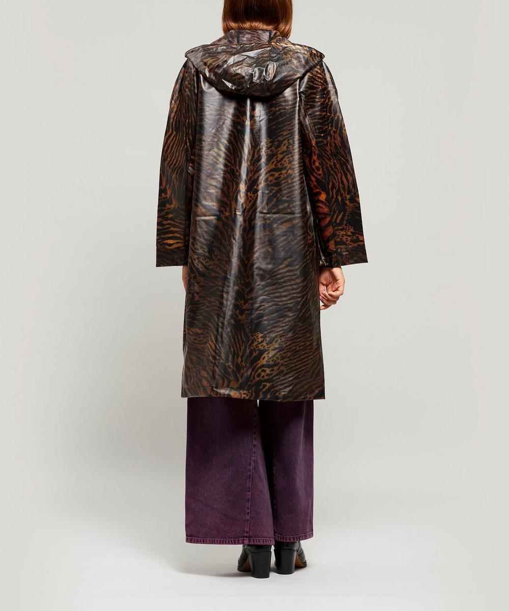 Biodegradable Tiger Raincoat