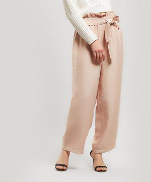 Cropped Paperbag Trousers