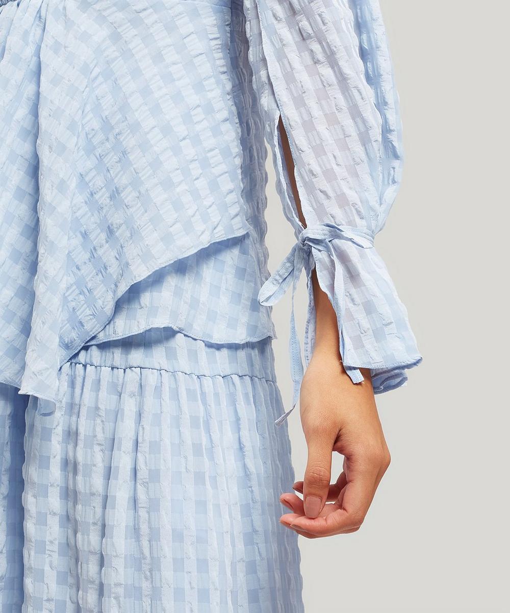 Sleeve Tie Blouse