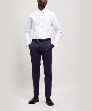 Cotton Artist Stripe Detail Oxford Shirt