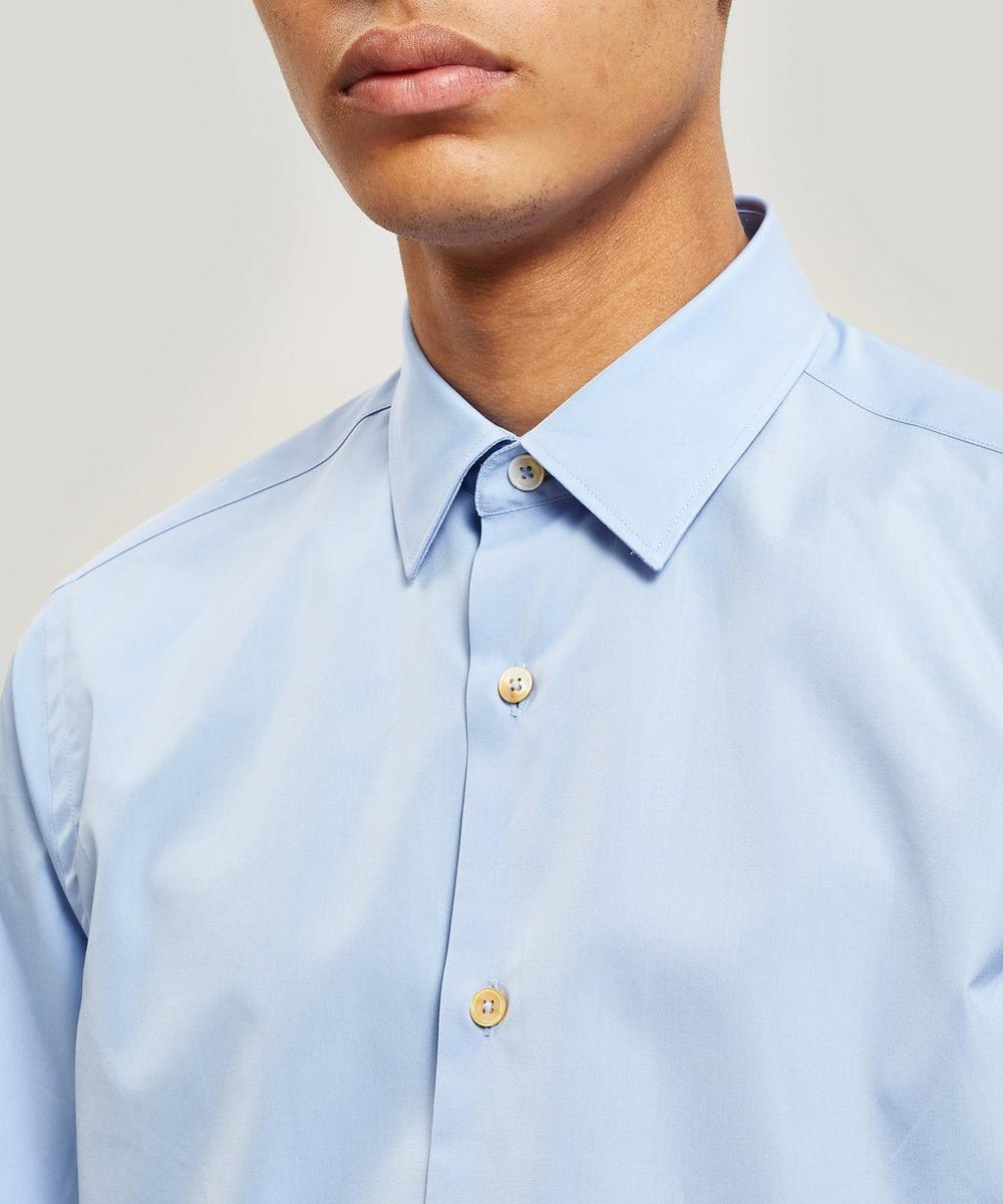 Cotton Artist Stripe Detail Oxford Shirt
