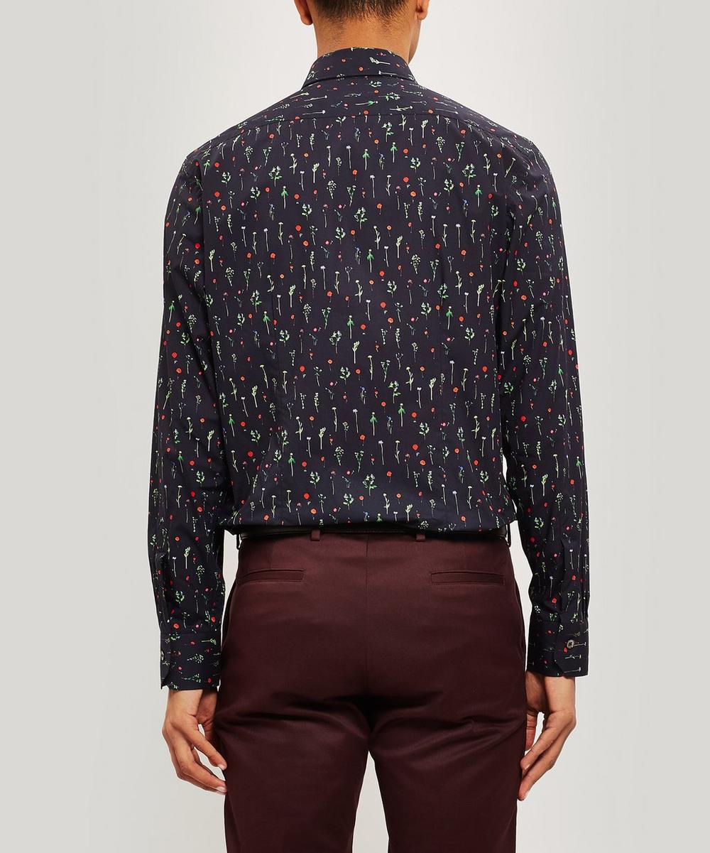 Floral Slim-Fit Cotton Shirt