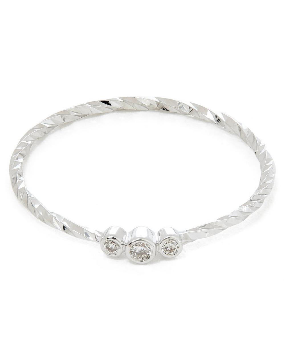 White Gold Jessa Diamond Ring