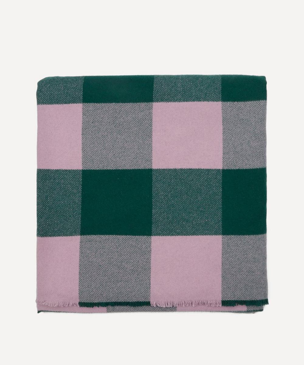 Fine Merino Plaid Blanket