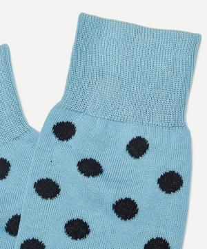 Cotton-Blend Spot Socks