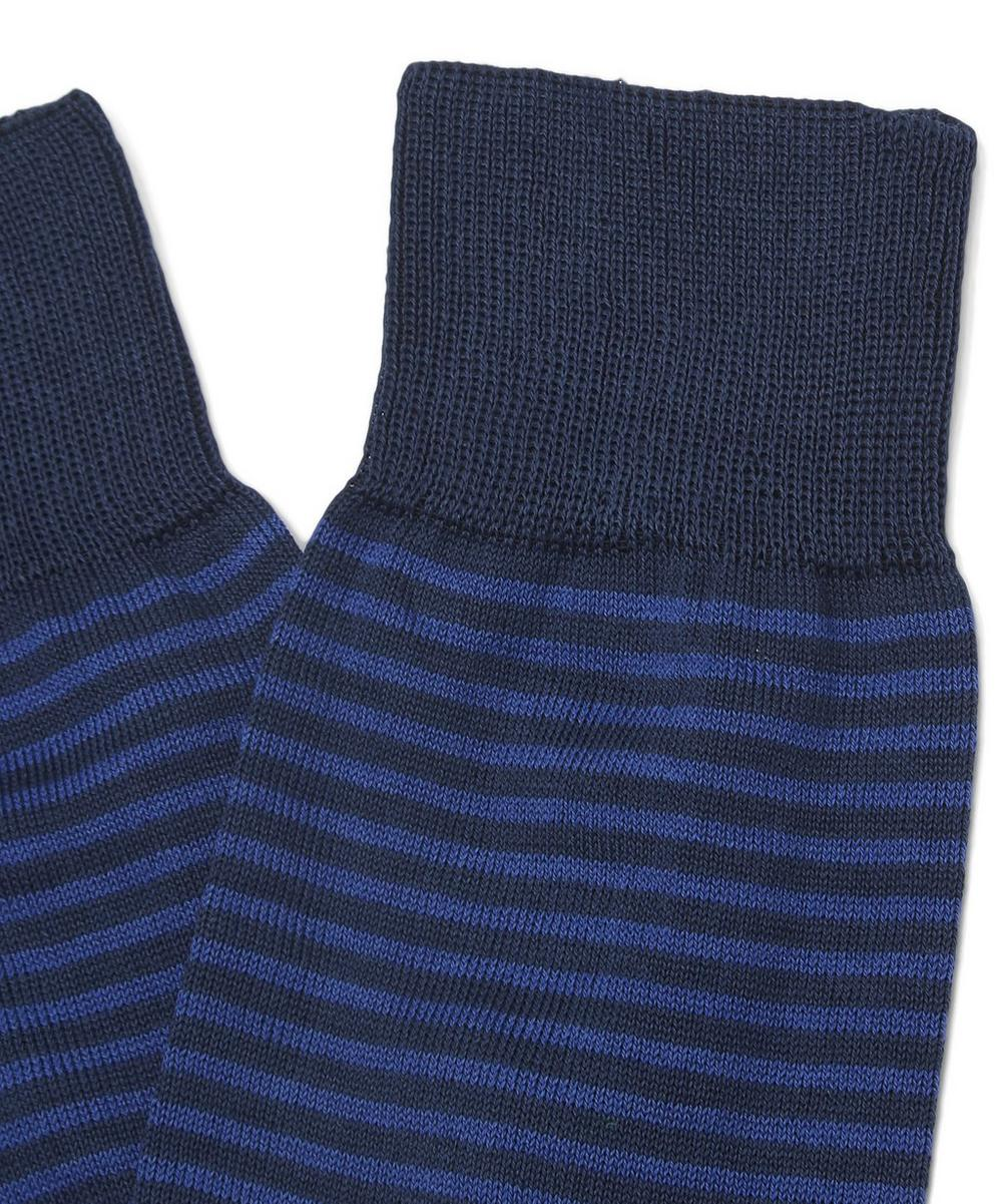 Two Toned Stripe Socks