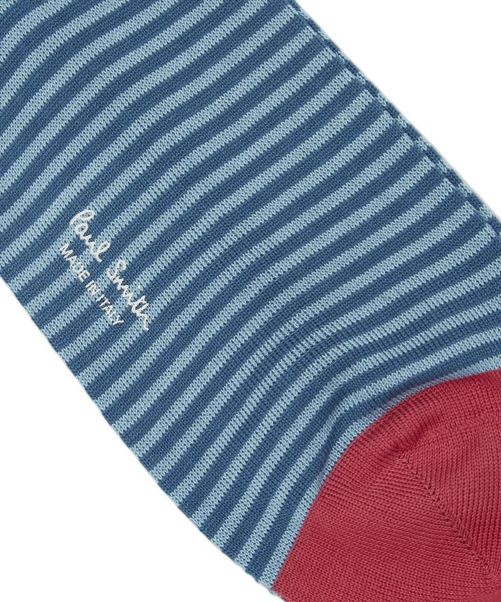 Two Toned Stripe Socks