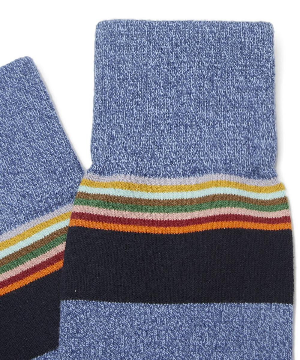 Twisted Marl Stripe Socks