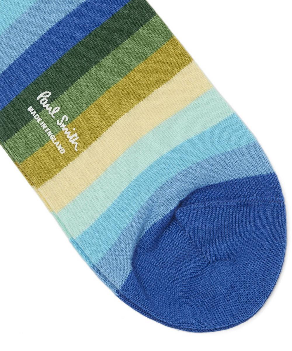 Simba Stripe Cotton Blend Socks