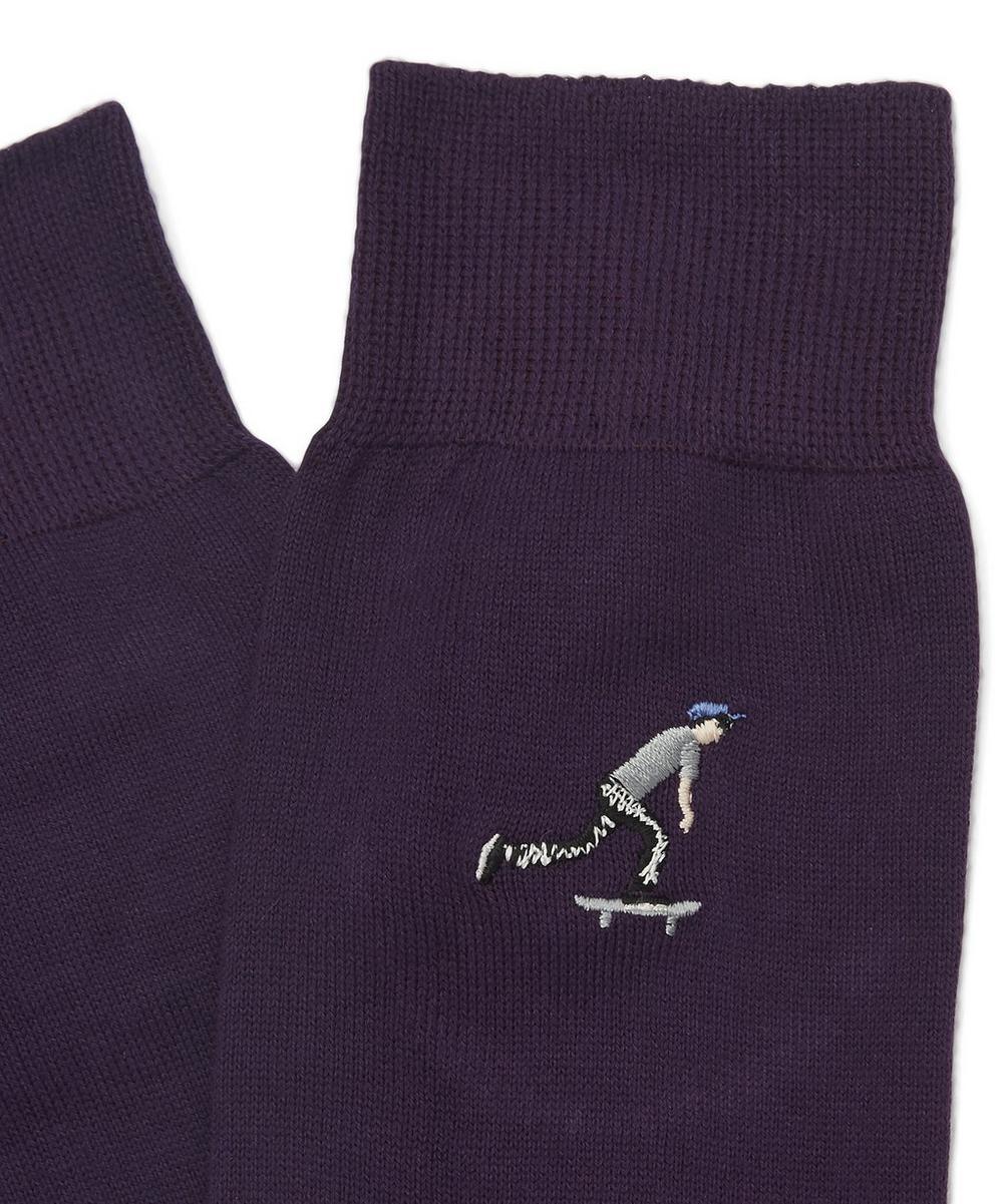 London Park Skateboarder Socks