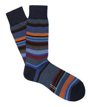 Aster Irregular Stripe Socks