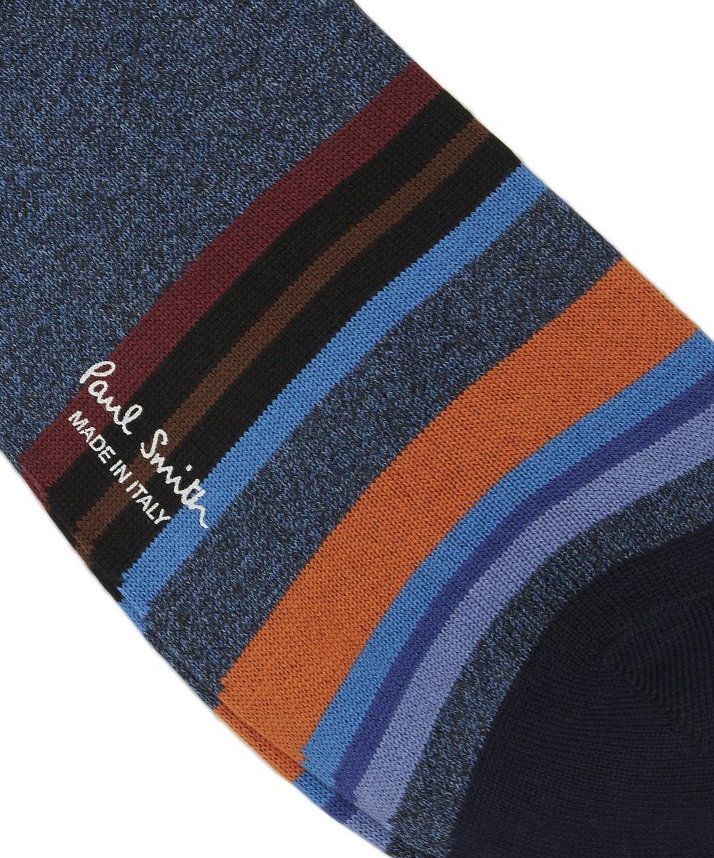 Aster Irregular Stripe Socks