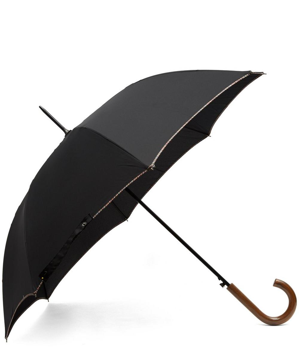 Multi Stripe Trim Walker Umbrella