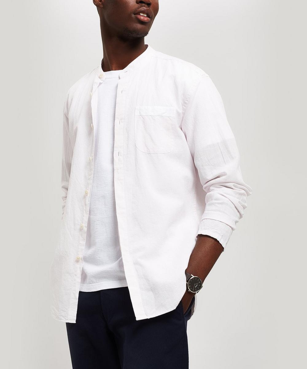 Serafina Grandad Collar Shirt