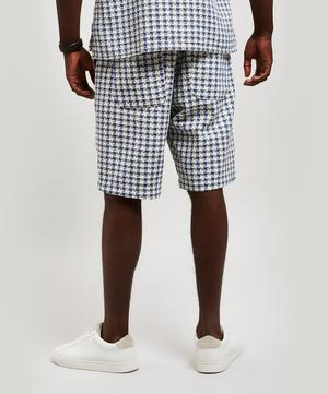 Drawstring Woven Cotton Shorts