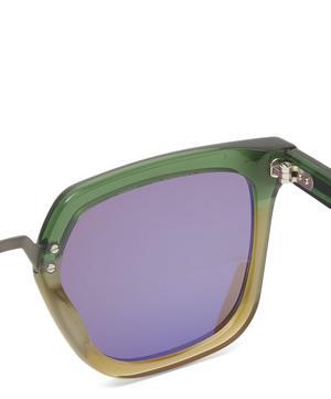 James Bicolour Metal Bridge Sunglasses
