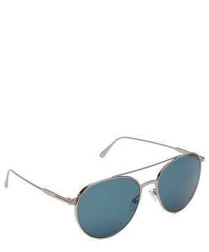 Tomasso Round Aviator Sunglasses