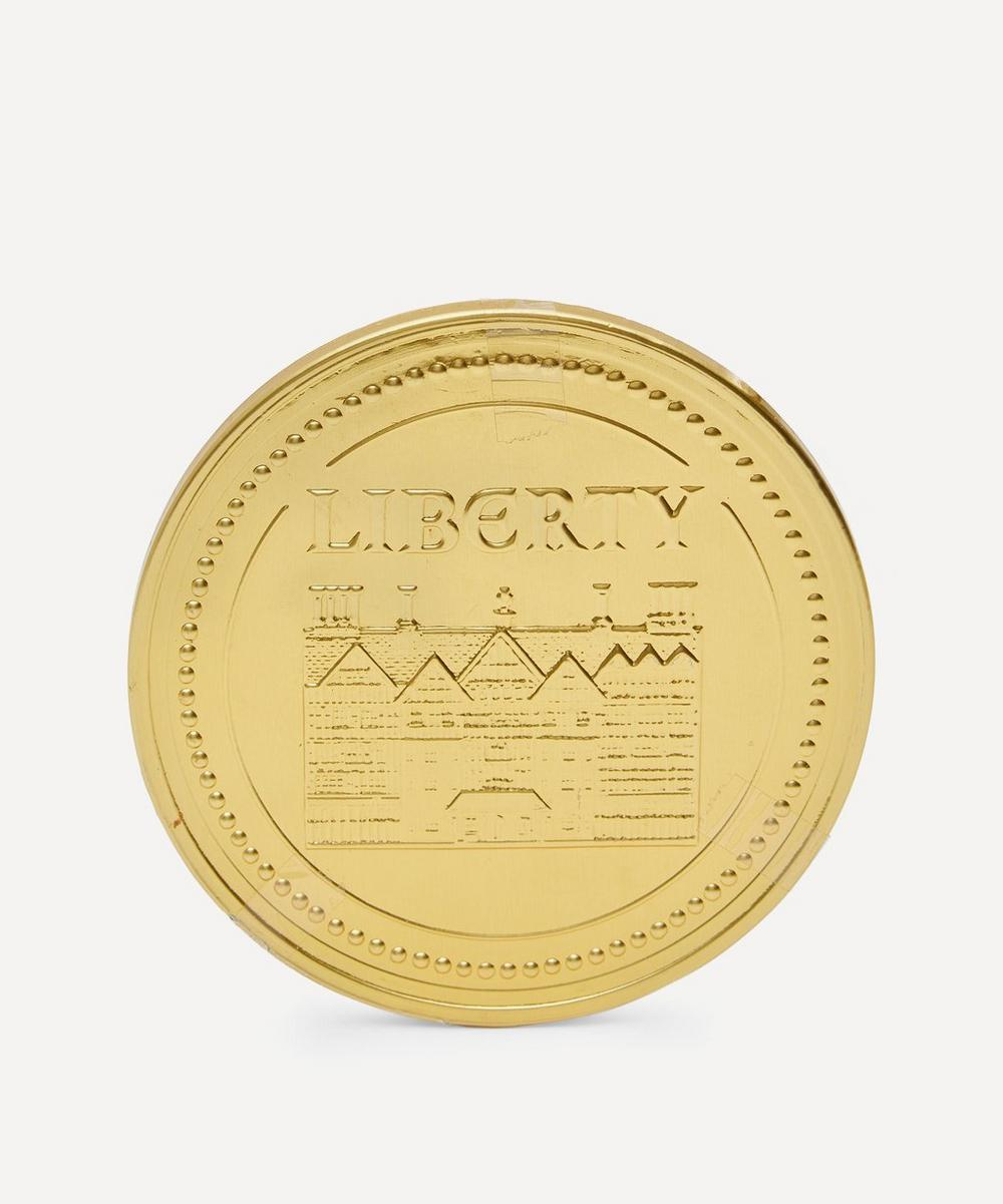 Gold-Tone Chocolate Coin 90g