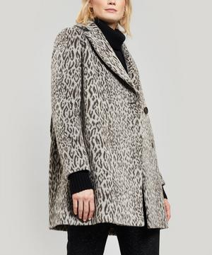 Leopard Print Short Coat