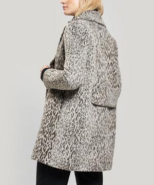 Leopard Print Short Coat