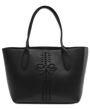 Neeson Leather Shopper