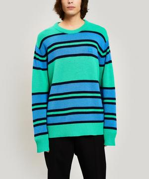Nimah Striped Face Sweater