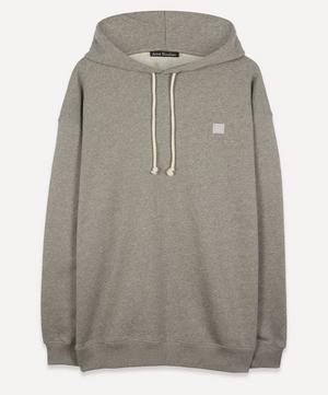 Farrin Face Oversized Cotton Hoodie