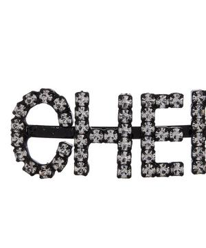 Cherry Crystal Hair Pins
