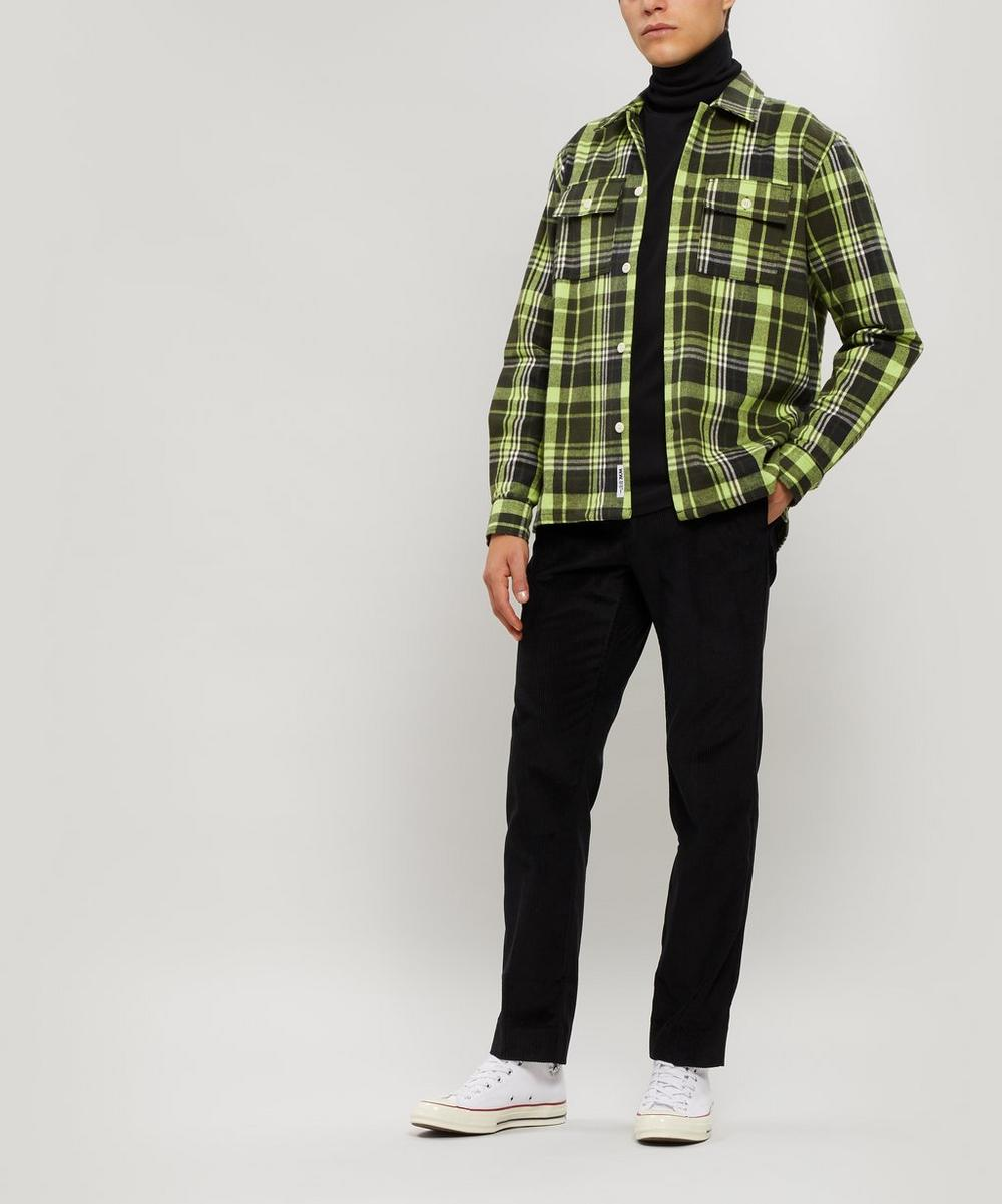 Franco Checked Cotton Overshirt