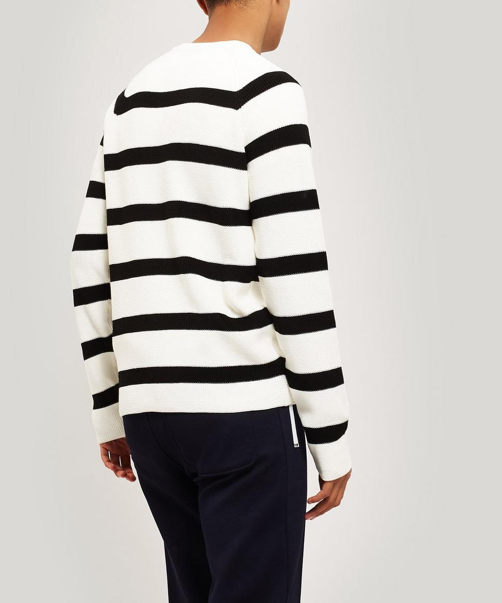 Striped Cotton Knit Jumper