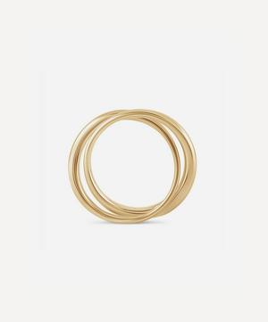 10ct Gold Signature Double Ring