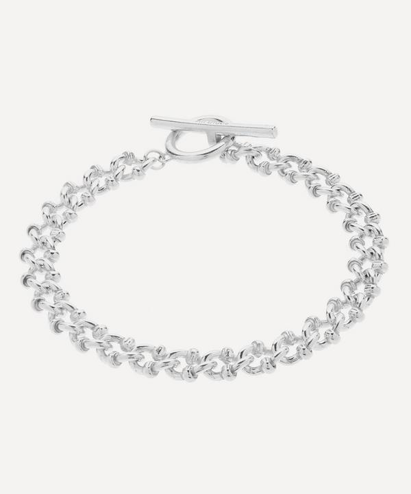 Silver DNA Bracelet