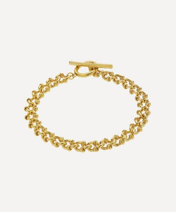 Gold Vermeil DNA Bracelet