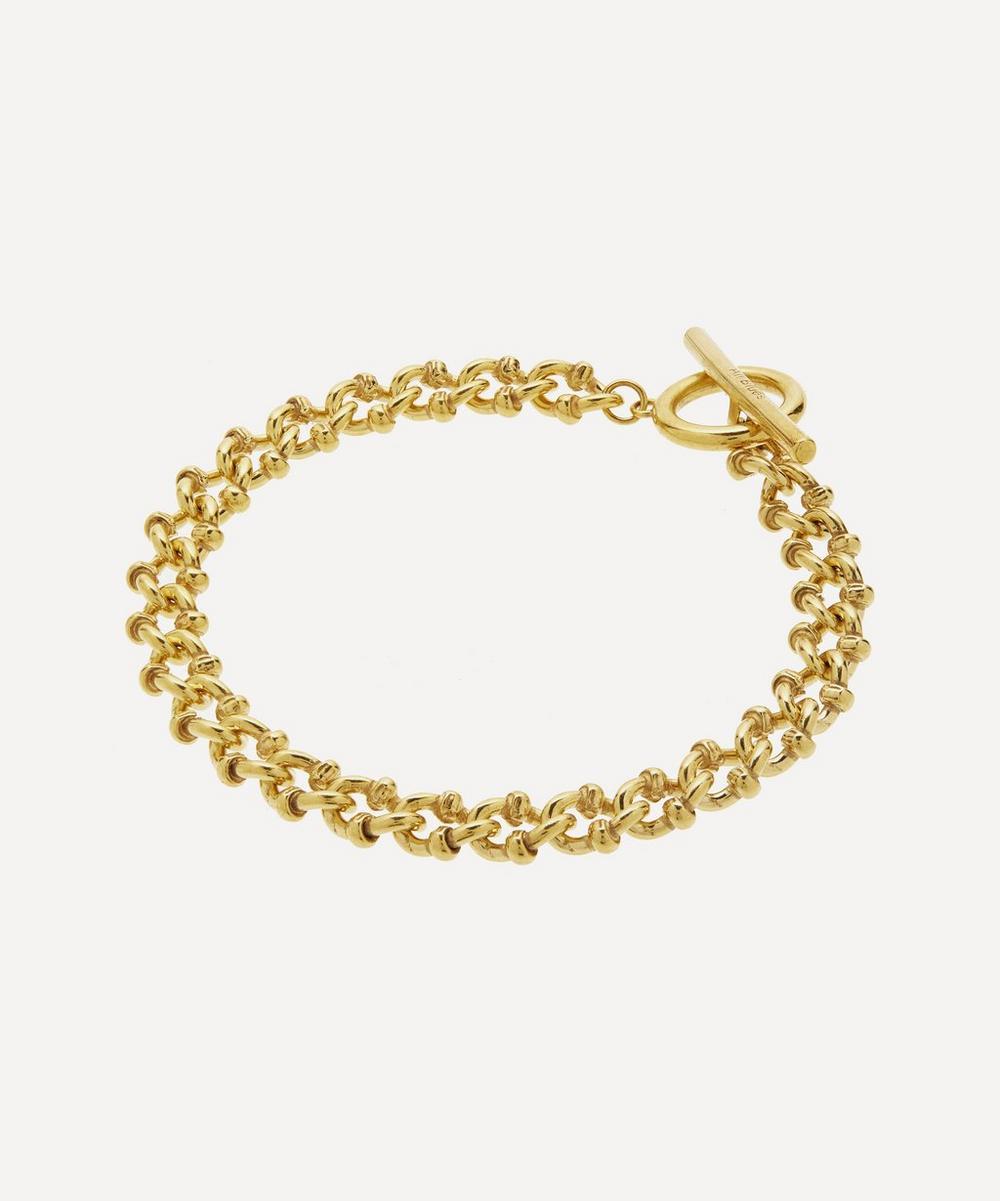 Gold Vermeil DNA Bracelet