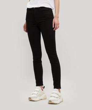 Peg High-Waist Jeans