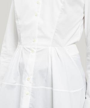 April Tie-Neck Waist Shirt