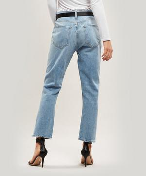 Riley Cropped Straight-Leg Jeans