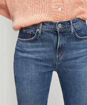 Toni Mid-Rise Slim-Straight Jeans