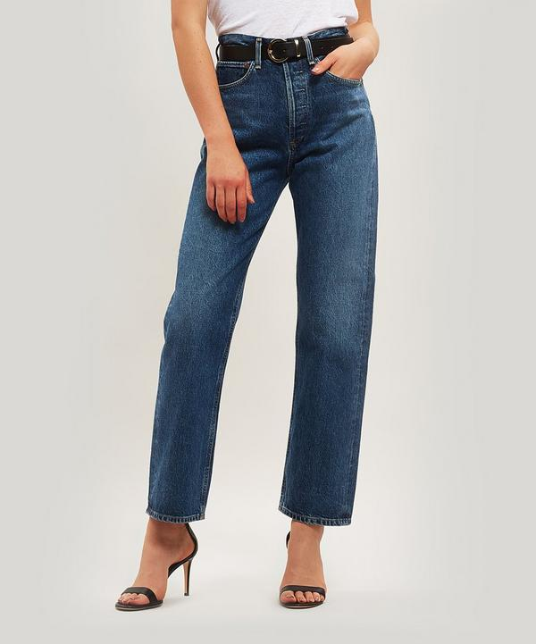 90s Mid Rise Loose Fit Jeans