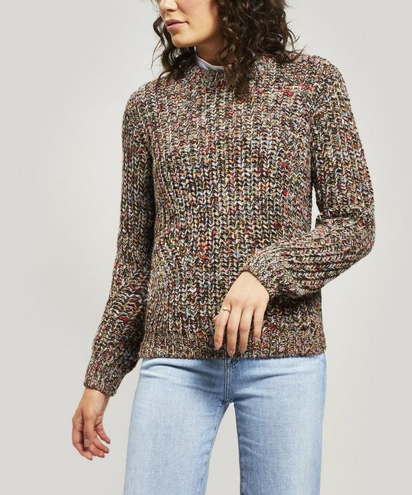 8d987e7e8c68fc Fraction Multi Knit Jumper ...