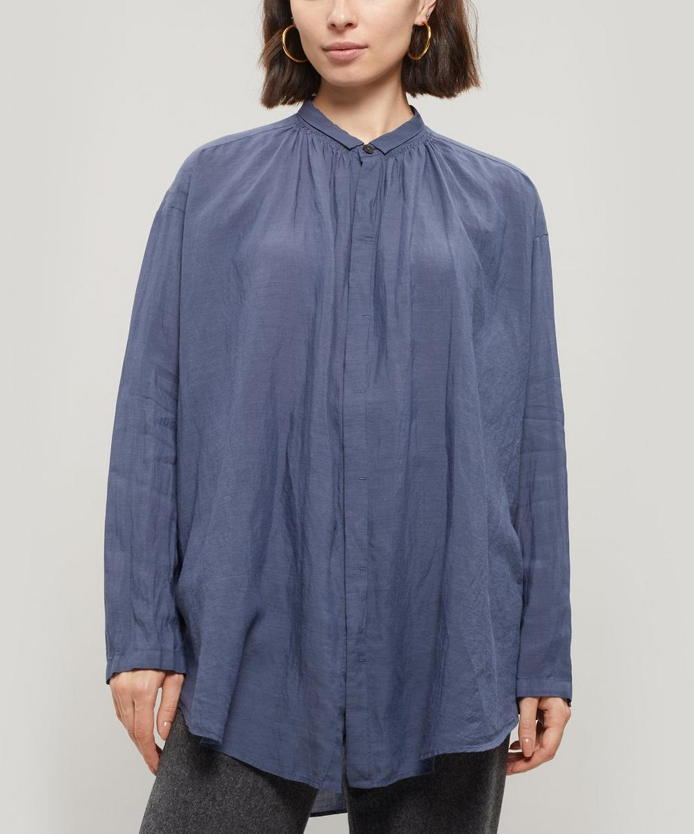 Linen Button-Up Shirt