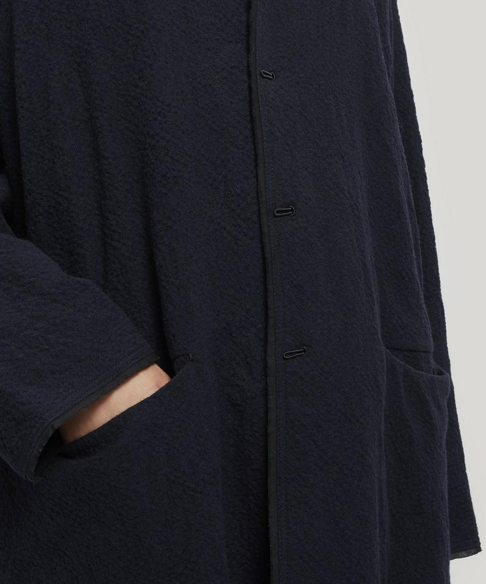 Oversized Cotton-Wool Coat