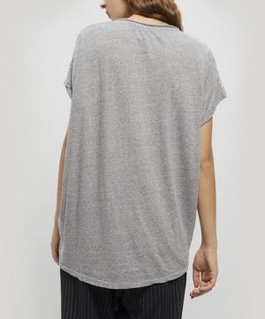 Sless Wide-Neck Cotton Top