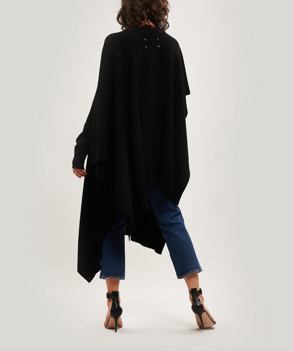 One Sleeve Asymmetrical Knit