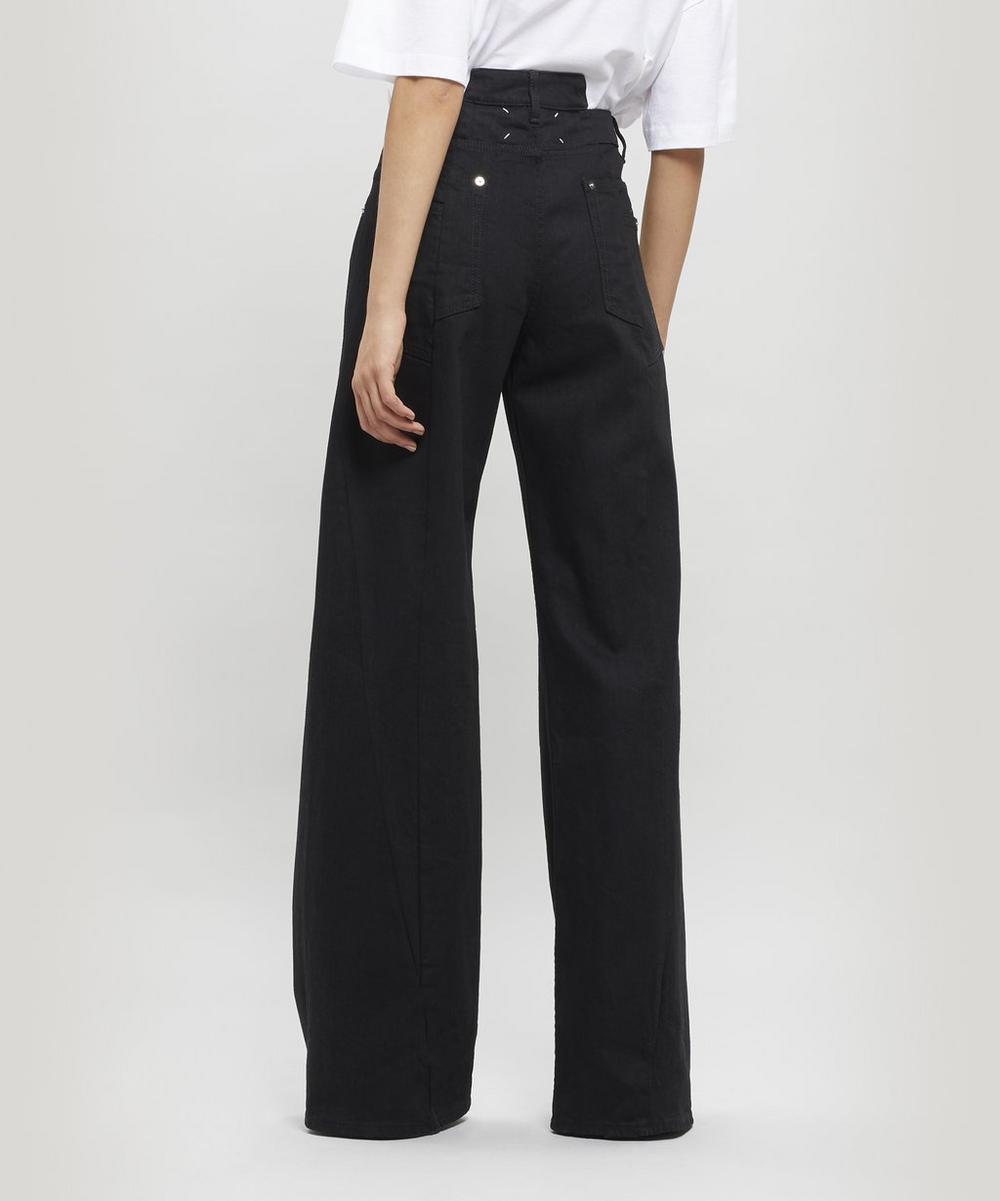 Décortiqué Wide-Leg Jeans