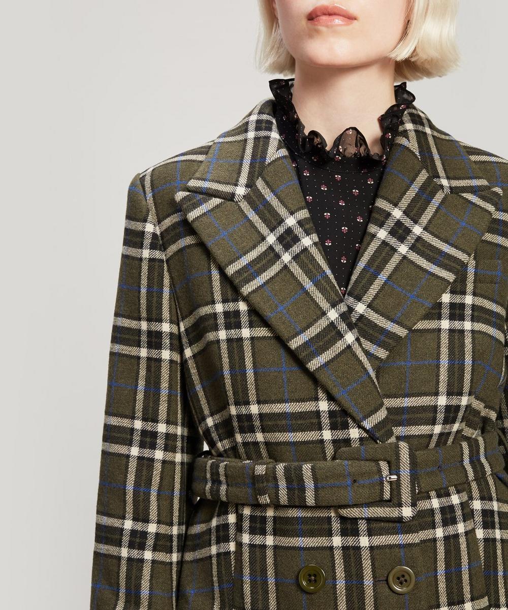 Big Check Coat