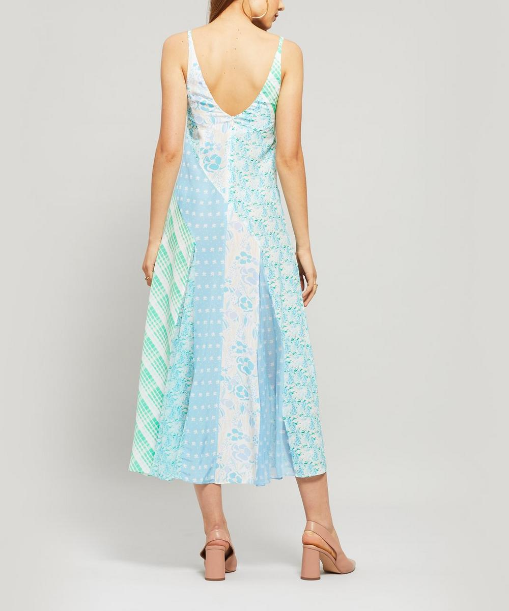 Denise Multi Print Slip Dress